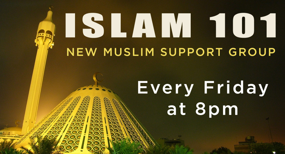 Islam 101 New Class at ICO